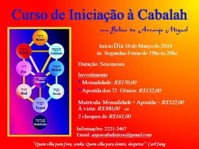 Flyer Curso de Iniciação  à Cabalah1