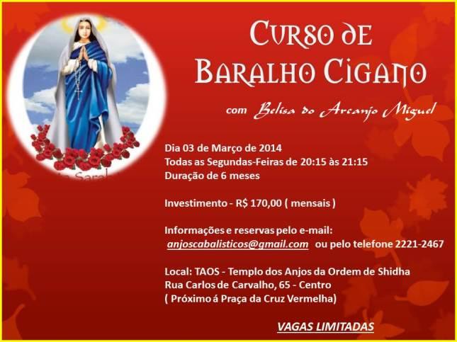 CURSO BARALHO CIGANO - 2014