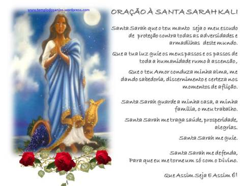 ORAÇÃO À SANTA SARAH KALI BELISA