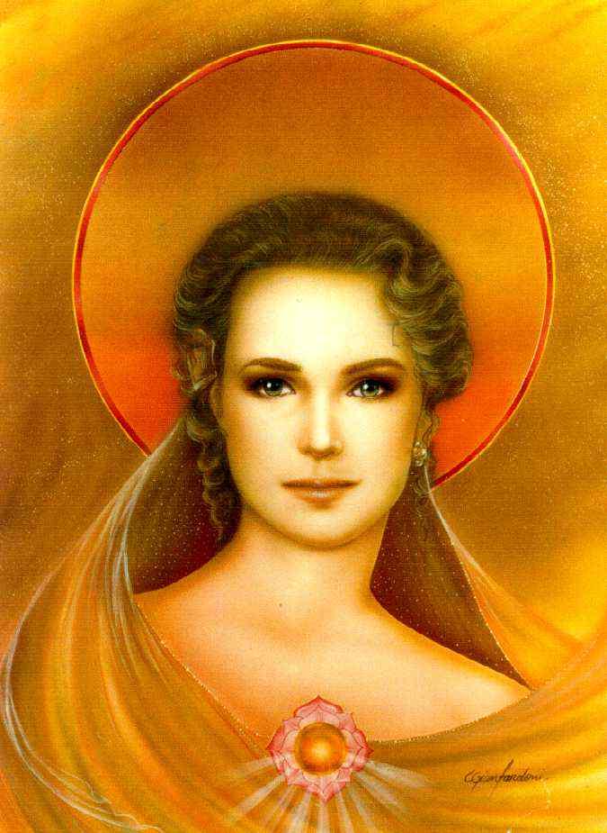 Mestres de Luz: Raio Rubi-dourado - Mestra Nada e Mestre Jesus